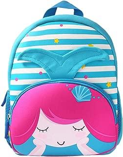 Toddler Backpack Waterproof Preschool Backpack 3D Cute Cartoon Neoprene Animal Schoolbag for Kids for 1-6 Years Boys Girls