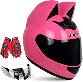 Kuaifly Personalized Cool Cat Ear Electric Motorcycle...