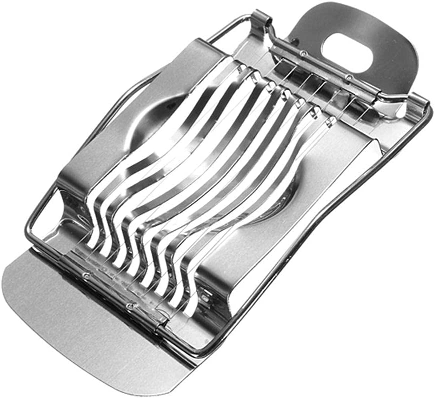 Fashionable 1Pcs Stainless Steel Egg Max 79% OFF Slicer Boiled