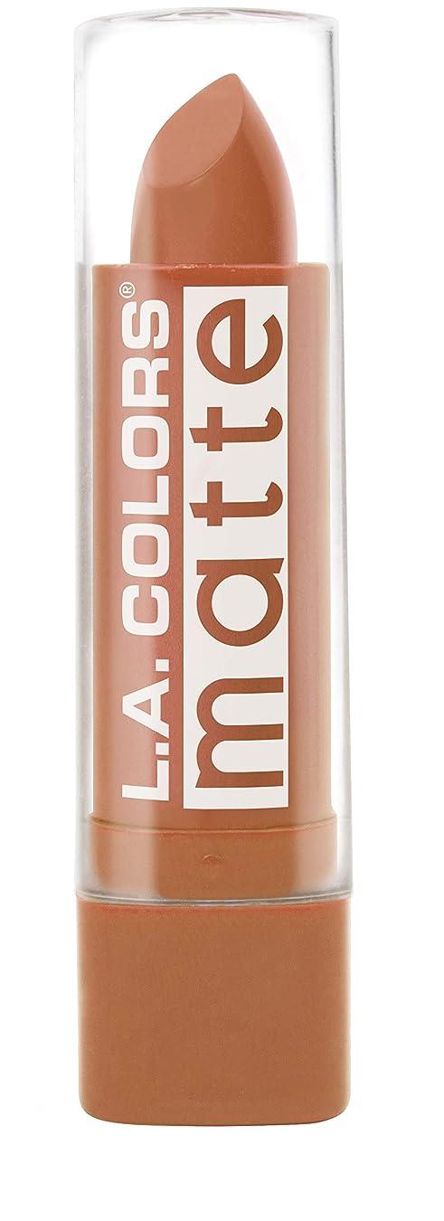 トイレ暗唱する励起L.A. COLORS Matte Lip Color - Going Steady (並行輸入品)