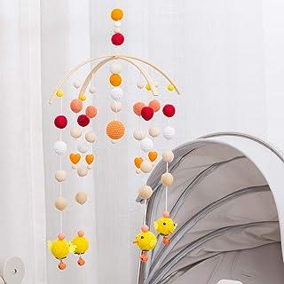 let's make Mobile Berceau Boule de Feutre de Cloche de lit Bricolage Artisanat Décor Accessoires de Photographie pour Bébé...