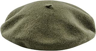 Clothink Women Or Men 100% Wool Solid Berets French Beret