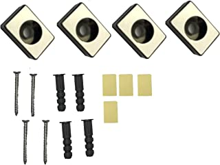 Garage Organizing Tool Magnets (Set of 4) - Strong Adhesive or Wall Mount Screws - A Magnetic Solution for Pegboard, Cabinets, Tool Box, and Storage