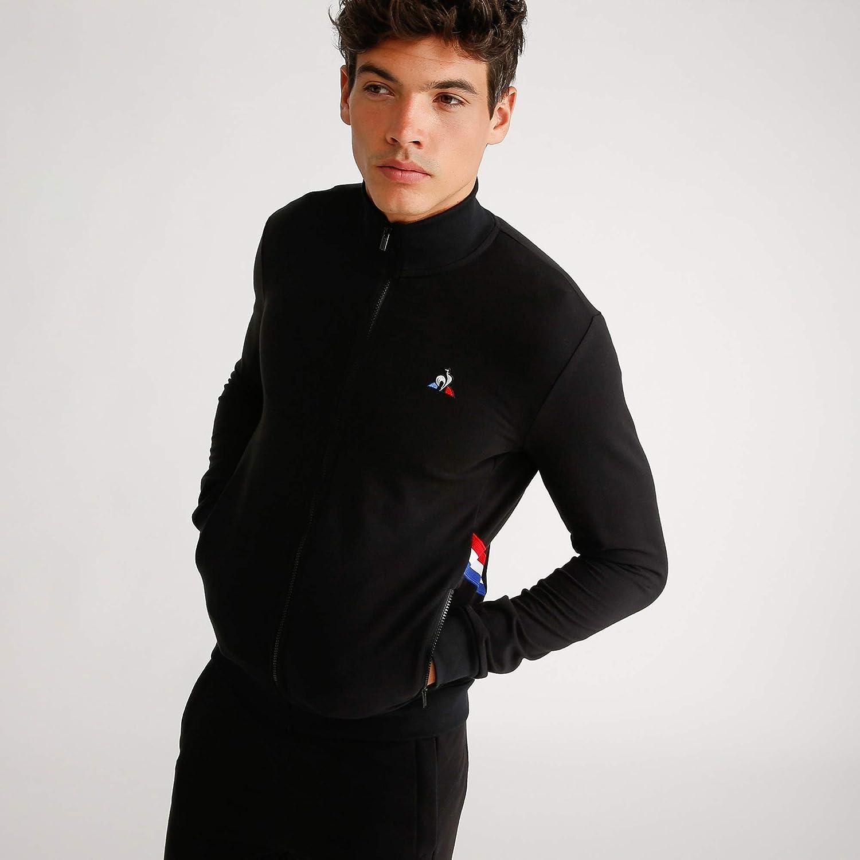 Le Coq Sportif Sweat zippé Tricolore Noinoi