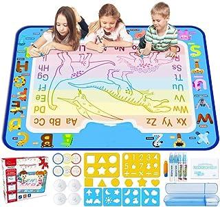SYXX Water Magic Doodle Mat, 2-5 Year Old Boy And Girl Creative Education Toy, Graffiti Mat, Magic Painting Mat, Painting ...