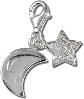 Plata de ley 925 SilberDream Charm pies colgante para pulsera cadena pendientes FC3124