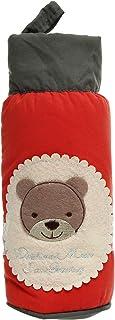 Universal Baby Supplies Wrap Around Feeding Bottle Bag, Red