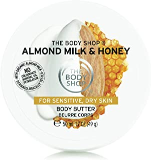 The Body Shop Almond Milk & Honey Body Butter For Women, 204 ml