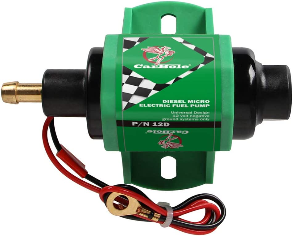 """12V Universal 12D Micro Electric For Diesel Fuel Only Transfer Pump 4-7psi 5//16/"""""""