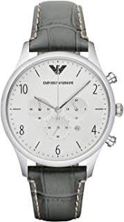 Emporio Armani Casual Watch For Unisex Analog Leather - AR1861