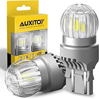 AUXITO 7443 LED Reverse Light Bulbs, Extremely Bright 3030 Chipsets 6000K White, 7440 7441 7444 T20 W21W LED Replacement L...