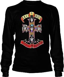 Guns N' Roses Appetite for Destruction T Shirt, Guns N' Roses T Shirt - Long Sleeve Tees
