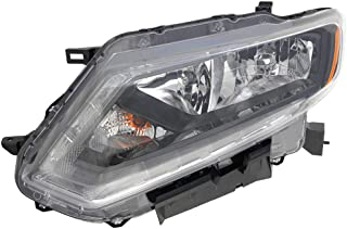 Headlight Replacement For Nissan Rogue Driver Left Side Lh 2014 2015 2016 Headlamp Assembly