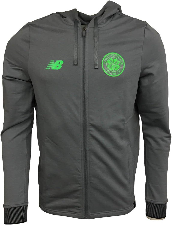 2017-2018 Celtic Elite Travel Hoody (Gunmetal)