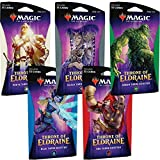 Magic The Gathering MTG-ELD-TBD-EN Throne of Eldraine Theme Boosters-Set of 5