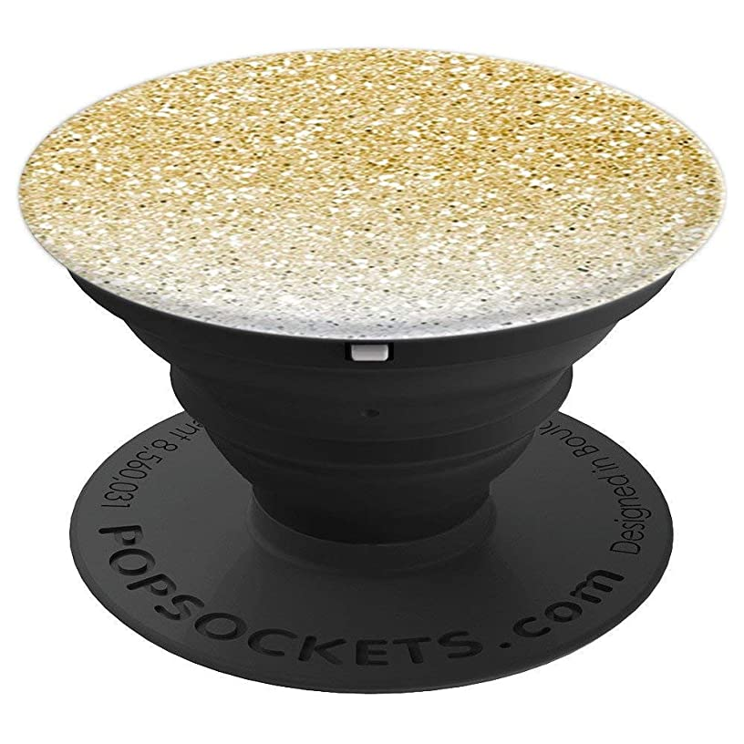 Gold Ombre Sparkles - PopSockets Grip and Stand for Phones and Tablets
