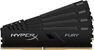 キングストン Kingston デスクトップPC用メモリ DDR4 2666MHz 16GBx4枚 HyperX FURY Memory Black Unbuffered DIMM HX426C16FB4K4/64 永久保証