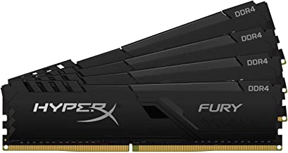 HyperX Fury Black 2400MHz DDR4 CL15 DIMM HX424C15FB4K4/64, 64GB kit (4 x 16GB)
