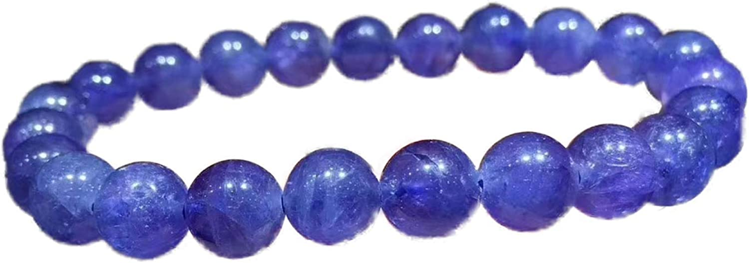 7mm Natural Tanzanite Blue Clear Beads Wo Gemstone Jewelry Ranking lowest price TOP2 Round