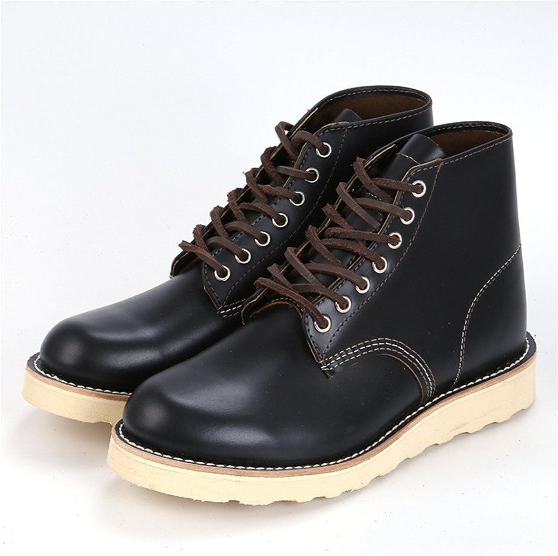 Les hommes de chaussures hommes bottes mode bottes chaudes angleterre scrub,noir,trente - neuf