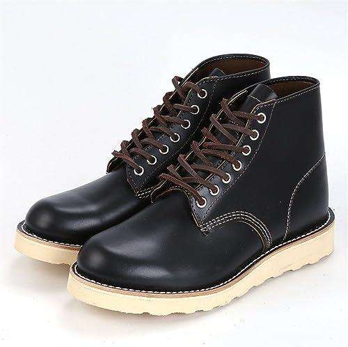 Les hommes de chaussures hommes bottes mode bottes chaudes angleterre scrub,noir,trente - huit
