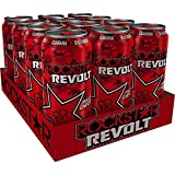 12 Dosen Rockstar Revolt Killer Cherry rot a 500ml inc. 3,00€ EINWEG Pfand