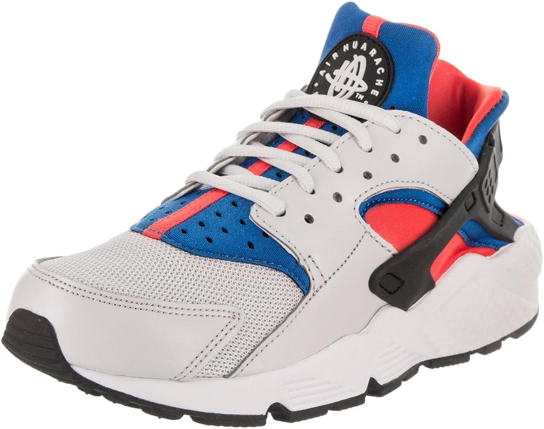 Nike WMNS Air Huarache Run - vast grau schwarz-Rush Coral-Blau - Freizeit-Schuhe-Damen  | Umweltfreundlich