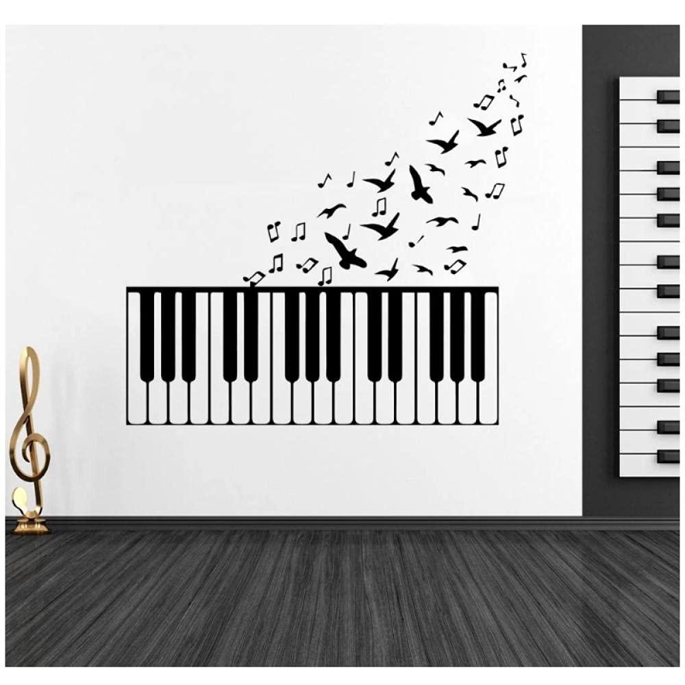 aksldf Tasti Latest item di pianoforte con Note Flying uccelli Music Wall Be super welcome e