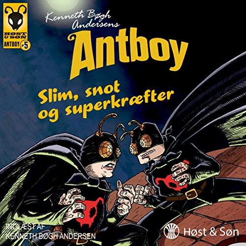 Slim, snot og superkræfter audiobook cover art