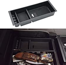 iJDMTOY Exact Fit Center Console Organizer Compartment Box w//Inside Mats For 2015-up Ford F-150