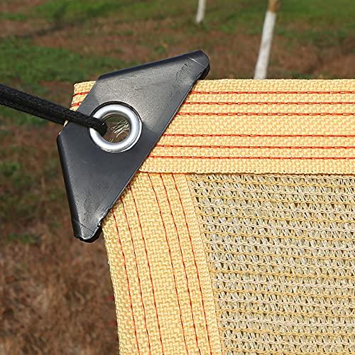 Sombra Solar Malla Vela de Sombra Beige Paño De Sombra de Jardín con Ojales, 95% De Sombra Protector Solar Tela Sun Paño Neto para Plantas De Invernadero, Marquesina De Pérgola (Size : 3×6M)