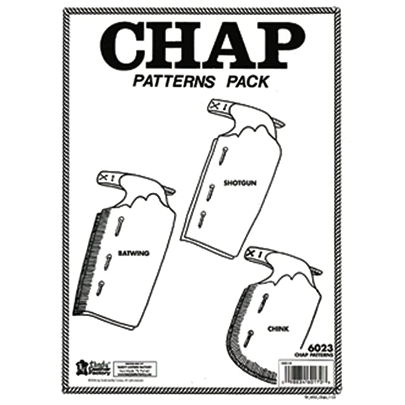 Tandy Leather Chap Pattern Pack 6023-00