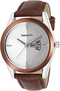 Timesmith Brown Analog Watch for Men TSC-015