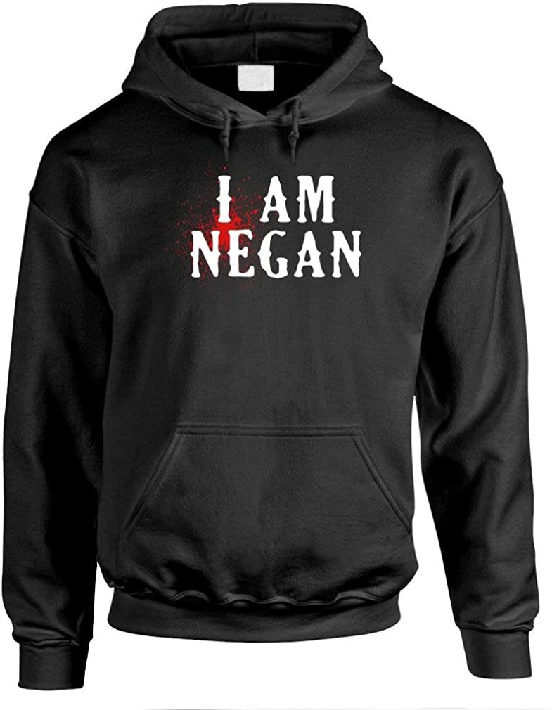 I AM 70% OFF Outlet Negan - Dead Zombie Mens Day Hoodi Monster Pullover Night Ranking TOP9