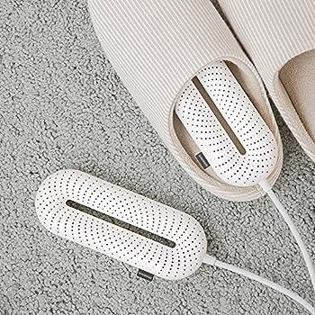 Scienbeauty Sèche-Chaussures pour sèche-Chaussures, sèche-Chaussures Portable avec minuterie à 3 Modes pour Les Voyages en Hiver, sèche-Chaussures de Conception Pliable Séchage Rapide pour Chaussures