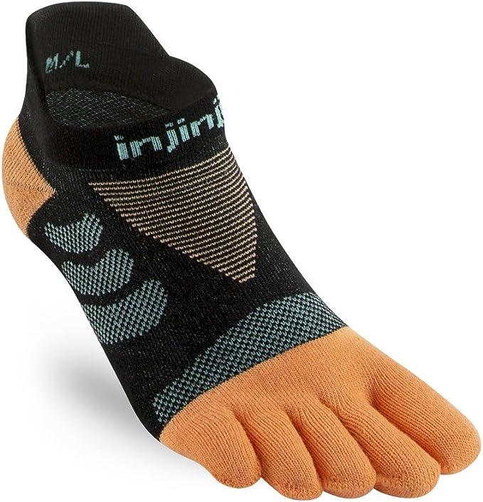 Onyx Injinji Ultra Run No-Show Running Toe Socks