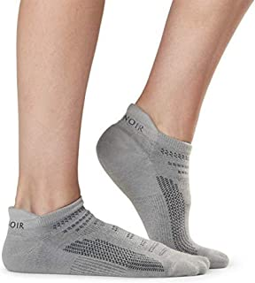 No Show Sport Socks -Tavi Noir Parker Lightweight Sock for Run, Hike, Bike 2 Pack