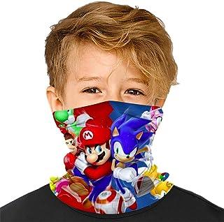 Buwict Kids Face Mask Reusable Bandana Daisy Flower Mascarillas Balaclava for Kids