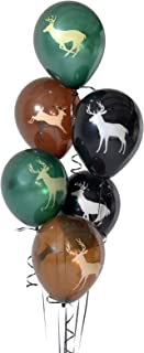 Latex Buck Deer Party Balloons (12