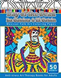 Coloring Books for Grownups Day of the Dead La Catrina & El Catrin: Mandalas & Geometric Coloring Pages Anti-stress Art Therapy Books: Volume 26