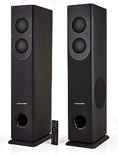 Blaupunkt TS-100-BK 200 W 2.2 Channel Dolby Bluetooth Tower Speaker (Black)