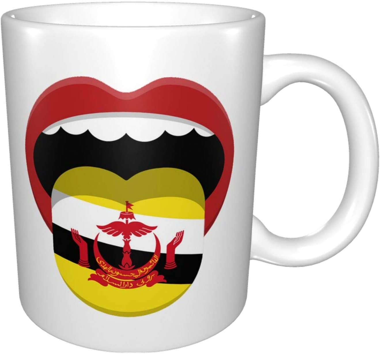 The Country Over item Raleigh Mall handling ☆ In Our Mouth Brunei Drinking Cup Coffee Ceramic Mug