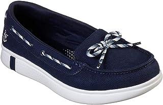 Skechers Glide Ultra Beach Life Women's Walking Shoes 16108-NVY,Navy,(UK5)