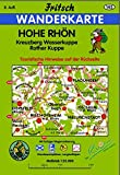 Hohe Rhön: Kreuzberg, Wasserkuppe, Rother Kuppe: Kreuzberg, Wasserkuppe, Rother Kuppe. Touristische Hinweise (Fritsch Wanderkarten 1:35000)