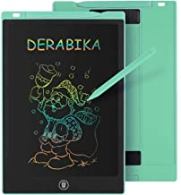 DERABIKA Girls Gifts for 3 4 5 6 Year Old Girls, 11 Inch LCD Writing Tablet Doodle Board, Colorful Drawing Board Drawing T...
