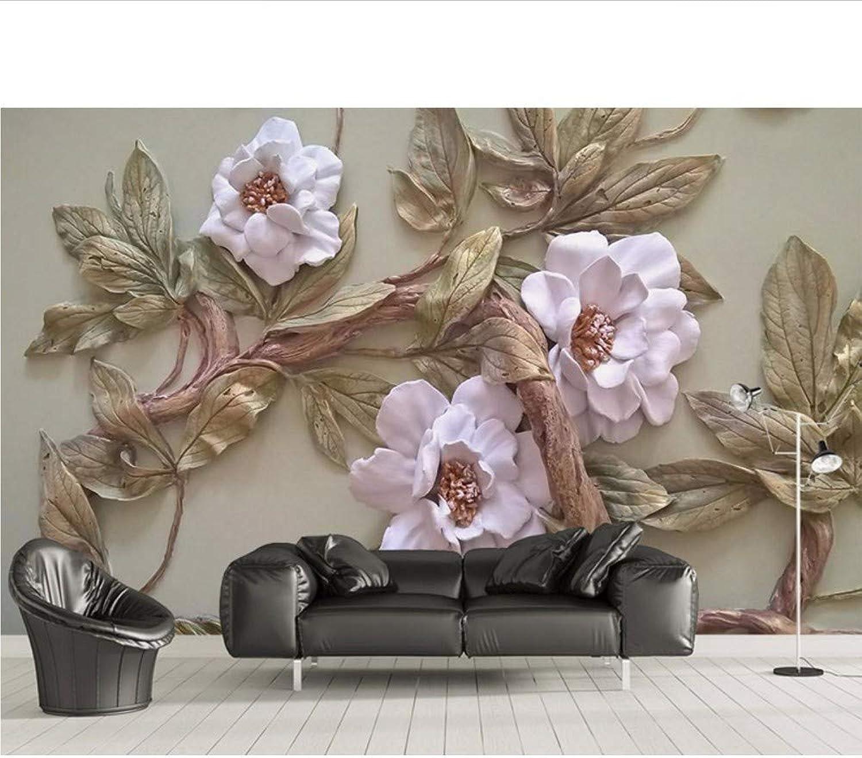 ventas directas de fábrica Weaeo MuralGrandeRepujado árboles De Flores Parojo 3D Foto Foto Foto Mural Papel Tapiz Murales 3D Papel De Parojo Para Sala De Estar Murales De Parojo 3D-200X140Cm  40% de descuento