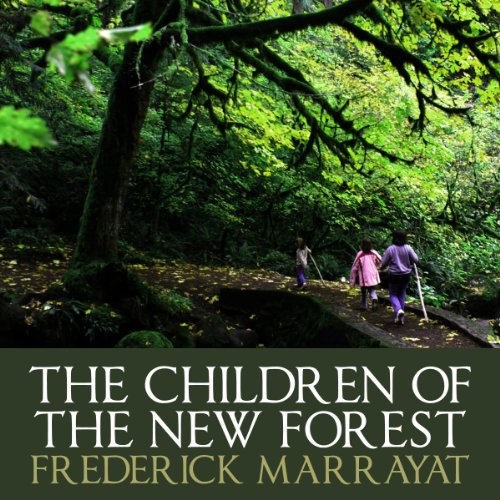 The Children Of The New Forest audiobook cover art