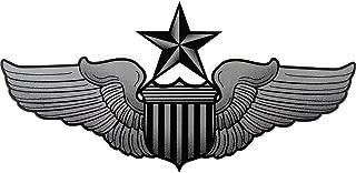 U.S. Air Force Senior Pilot Badge Clear Decal