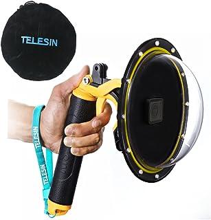 TELESIN 6''Dome Port Camera Lens Transparent