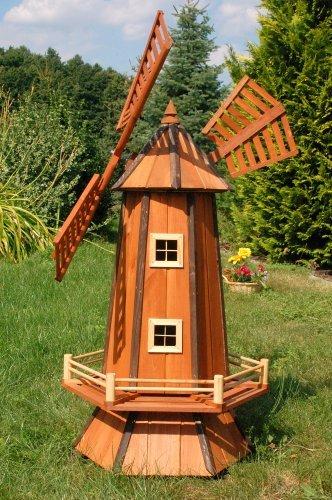 Große Windmühle 1,30 m ++imprägniert u. kugelgelagert++